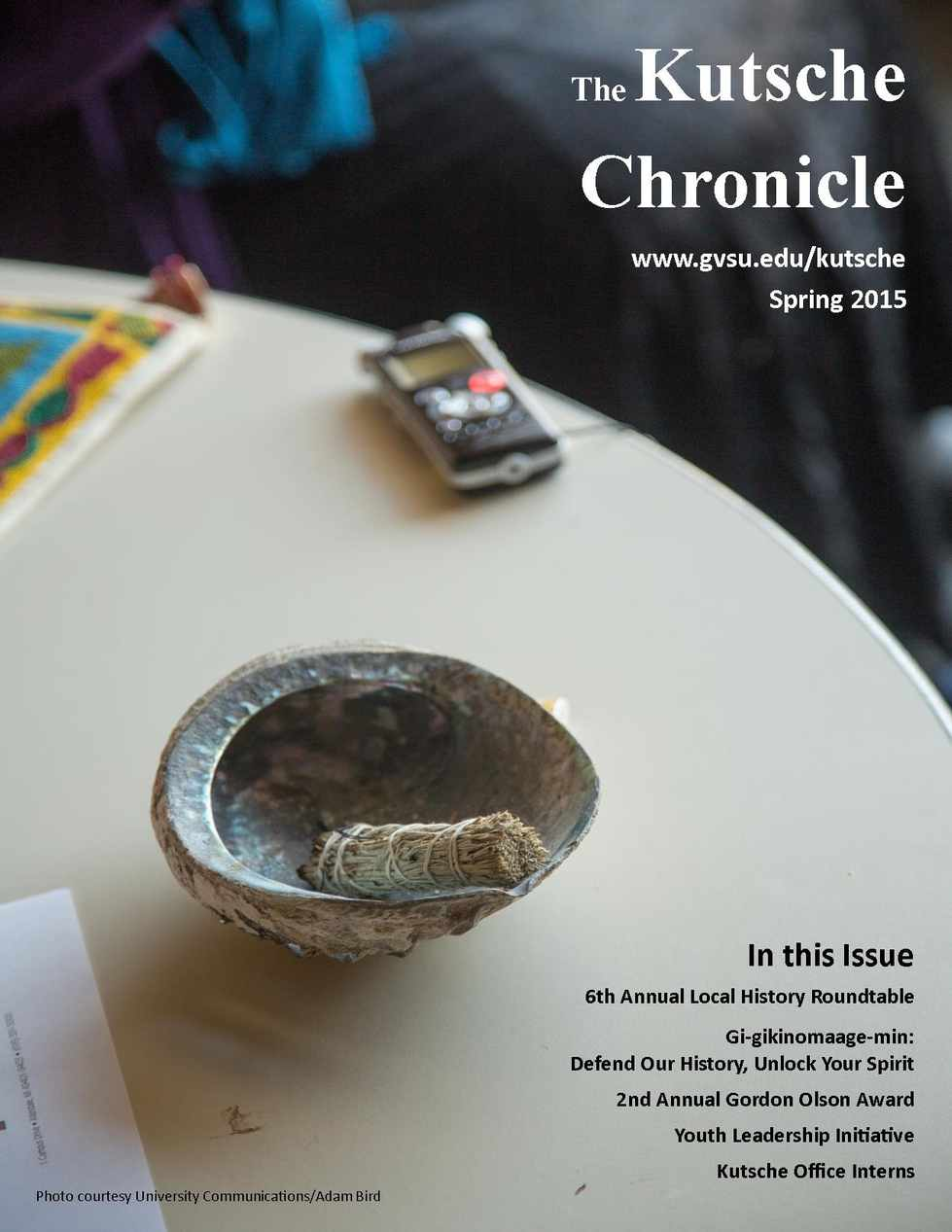Spring 2015 Kutsche Chronicle